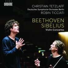 Christian Tetzlaff - Beethoven / Sibelius, CD