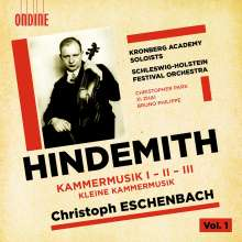 Paul Hindemith (1895-1963): Kammermusiken Nr.1-3, CD
