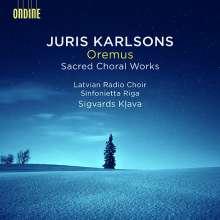 Juris Karlsons (geb. 1948): Geistliche Chorwerke, CD