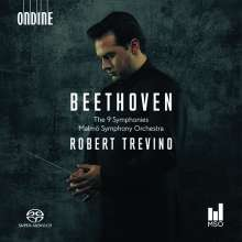 Ludwig van Beethoven (1770-1827): Symphonien Nr.1-9, 5 Super Audio CDs