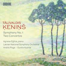 Talivaldis Kenins (1919-2008): Symphonie Nr.1, CD