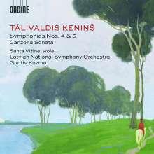 """Talivaldis Kenins (1919-2008): Symphonien Nr.4 & 6 """"Sinfonia ad Fugam"""", CD"""