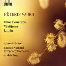 Peteris Vasks (geb. 1946): Oboenkonzert, CD
