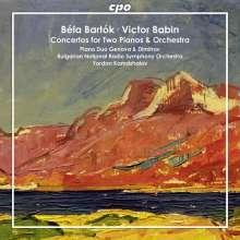Victor Babin: Konzert für 2 Klaviere & Orchester, CD