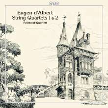 Eugen D'Albert (1864-1932): Streichquartette Nr.1 & 2, CD