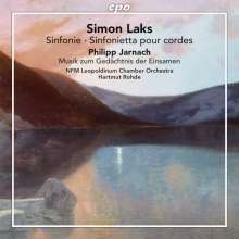 Simon Laks (1901-1983): Symphonie für Streicher, CD