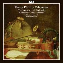 Georg Philipp Telemann (1681-1767): Chalumeaux & Salterio - Kammermusik mit Hackbrett, CD