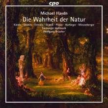 Michael Haydn (1737-1806): Die Wahrheit der Natur (Oratorium), CD