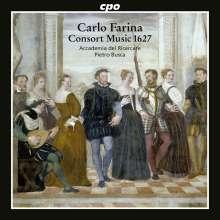 Carlo Farina (1600-1640): Consort Music (Dresden 1627/1628), CD
