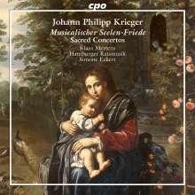 "Johann Philipp Krieger (1649-1725): Geistliche Konzerte - ""Musicalischer Seelen-Friede"" (Nürnberg 1697), CD"