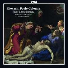 Giovanni Paolo Colonna (1637-1695): Sacre Lamentazione della Settimana Sancta a voce sola, CD