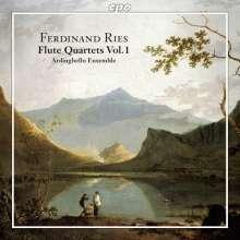 Ferdinand Ries (1784-1838): Sämtliche Werke für Flöte & Streichtrio Vol.1, CD