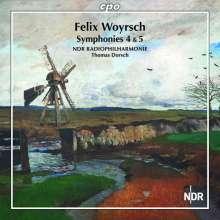 Felix Woyrsch (1860-1944): Symphonien Nr.4 & 5, CD