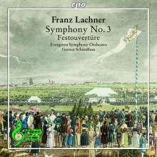 Franz Lachner (1803-1890): Symphonie Nr. 3 d-moll op. 41, CD