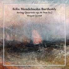 Felix Mendelssohn Bartholdy (1809-1847): Streichquartette Vol.3, CD