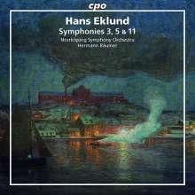 Hans Eklund (1927-1999): Symphonien Nr.3,5,11, CD
