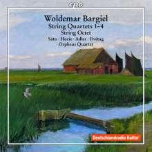 Woldemar Bargiel (1828-1897): Sämtliche Streichquartette, 2 CDs