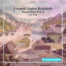 Leopold Kozeluch (1747-1818): Klaviertrios P.IX:Nr.8,11,12, CD