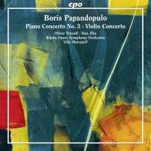Boris Papandopulo (1906-1991): Klavierkonzert Nr.3, CD