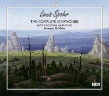 Louis Spohr (1784-1859): Symphonien Nr.1-10 (Sämtliche Symphonien), 5 SACDs