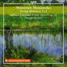 Stanislaw Moniuszko (1819-1872): Streichquartette Nr.1 & 2, CD