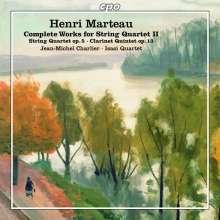 Henri Marteau (1874-1934): Sämtliche Werke für Streichquartett Vol.2, CD