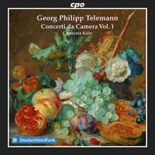 Georg Philipp Telemann (1681-1767): Concerti da Camera TWV 43 Vol.1, CD