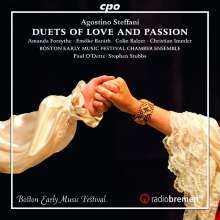 Agostino Steffani (1654-1728): Duette, CD