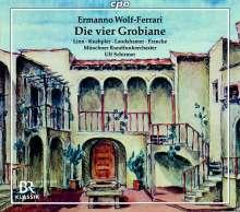 Ermanno Wolf-Ferrari (1876-1948): I Quatro Rusteghi (Die vier Grobiane - Gesamtaufnahme in deutscher Sprache), 2 CDs
