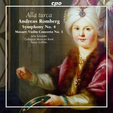 "Andreas Romberg (1767-1821): Symphonie Nr.4 op.51 ""Alla Turca"", CD"
