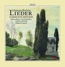 Johannes Brahms (1833-1897): Sämtliche Lieder, 11 CDs