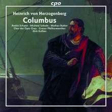 Heinrich von Herzogenberg (1843-1900): Columbus, 2 CDs