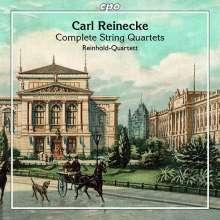 Carl Heinrich Reinecke (1824-1910): Sämtliche Streichquartette, 2 CDs