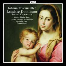Johann Rosenmüller (1619-1684): Geistliche Konzerte, CD