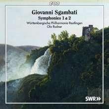 Giovanni Sgambati (1841-1914): Symphonien Nr.1 D-Dur op.16 & Nr.2 Es-Dur, CD