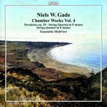 Niels Wilhelm Gade (1817-1890): Kammermusik Vol.4, CD