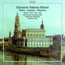 Giovanni Alberto Ristori (1692-1753): Missa C-Dur, CD