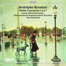 Rodolphe Kreutzer (1766-1831): Violinkonzerte Nr. 1 G-Dur, Nr. 6 e-moll, Nr. 7 A-Dur, CD