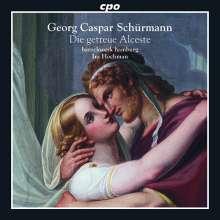 Georg Caspar Schürmann (1672-1751): Die getreue Alceste, CD