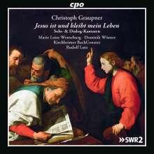 Christoph Graupner (1683-1760): Solo- & Dialog-Kantaten, 2 CDs
