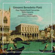 Giovanni Benedetto Platti (1697-1763): Cembalokonzerte C-Dur,F-Dur,G-Dur,A-Dur, CD