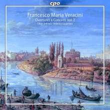 Francesco Maria Veracini (1690-1768): Ouvertüren & Concerti Vol.2, SACD