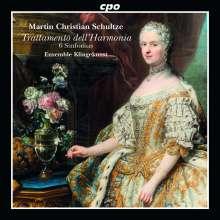 Martin Christian Schultze (18. Jahrhundert): Trattamento dell'Harmonia per Sinfonie da Camera a quattro Istromenti, CD