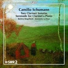 Camillo Schumann (1872-1946): Klarinettensonaten Nr.1 & 2 (op.112 & 134), CD