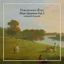 Ferdinand Ries (1784-1838): Sämtliche Werke für Flöte & Streichtrio Vol.2, CD