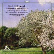 Karl Goldmark (1830-1915): Symphonische Dichtungen Vol.2, CD