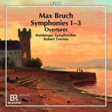 Max Bruch (1838-1920): Sämtliche Symphonien, 2 CDs