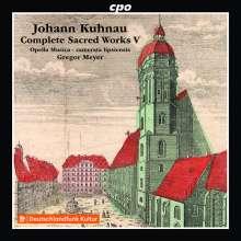 Johann Kuhnau (1660-1722): Sämtliche geistliche Werke Vol.5, CD