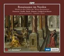 Renaissance im Norden - Musik an den Höfen der Weserrenaissance, 4 CDs