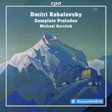 Dimitri Kabalewsky (1904-1987): Sämtliche Preludes für Klavier, CD